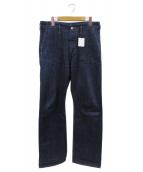MHL(エムエイチエル)の古着「デニムパンツ」 インディゴ