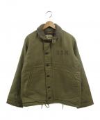 東洋エンタープライズ()の古着「N-1デッキジャケット」|カーキ