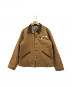 Pherrow's(フェローズ)の古着「カスタムトラッカージャケット / カバーオール」|ブラウン
