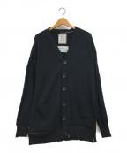 Maison MIHARA YASUHIRO(メゾン ミハラヤスヒロ)の古着「ニットカーディガン」|ブラック