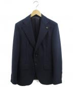 GABRIELE PASINI(ガブリアルパジーニ)の古着「テーラードジャケット」|ネイビー
