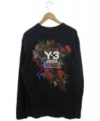 Y-3(ワイスリー)の古着「Toketa Print Tee」|ブラック