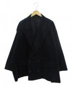 .efiLevol(エフィレボル)の古着「So Big Corduroy Jacket」|ブラック