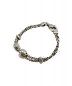 Tiffany & Co.(ティファニー)の古着「ダブルロープブレスレット」|シルバーカラー