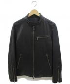 JOSEPH HOMME(ジョゼフ オム)の古着「ライダースジャケット」 ブラック
