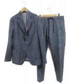 EMPORIO ARMANI(エンポリオアルマーニ)の古着「セットアップ」 ブルー