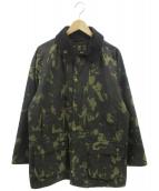 ()の古着「カモフラオイルドジャケット」|オリーブ