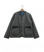 .efiLevol(エフィレボル)の古着「Quilted Gabardinel Jacket」|グレー