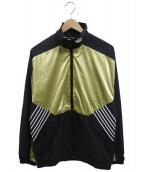 adidas Originals(アディダスオリジナル)の古着「ナイロンジャケット」|ゴールド