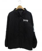 THRASHER(スラッシャー)の古着「コーチジャケット」|ブラック