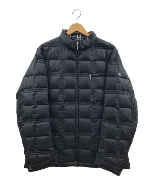 BURBERRY BLACK LABEL(バーバリーブラックレーベル)BURBERRY BLACK LABEL (バーバリーブラックレーベル) ダウンジャケット ブラック サイズ:Mの古着・服飾アイテム