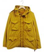 ASPESI(アスペジ)の古着「ガーメントダイナイロンM-65ジャケット」 イエロー