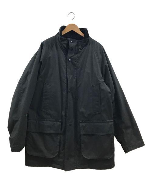 STEVEN ALAN(スティーブンアラン)STEVEN ALAN (スティーブンアラン) OILD OX 2WAY HUNTER COAT ブラック サイズ:Lの古着・服飾アイテム