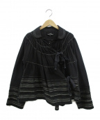 tricot COMME des GARCONS()の古着「デザインシャツ」|ブラック