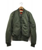 ()の古着「MA-1ジャケット」|オリーブ