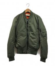 Denim & Supply Ralph Lauren (デニム&サプライ ラルフローレン) MA-1ジャケット オリーブ サイズ:XS