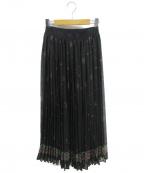 08sircus()の古着「プリーツスカート」 ブラック