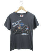 HARLEY-DAVIDSON(ハーレーダビットソン)の古着「プリントTシャツ」|グレー