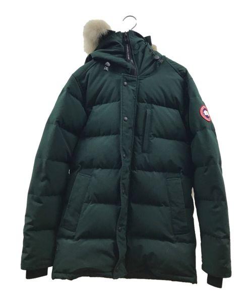 CANADA GOOSE(カナダグース)CANADA GOOSE (カナダグース) CARSON PARKA グリーン サイズ:Mの古着・服飾アイテム