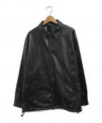 .efiLevol(エフィレボル)の古着「Reversible Short Coat」|ブラック×グリーン