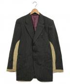 PAUL SMITH()の古着「切替テーラードジャケット」|ブラック
