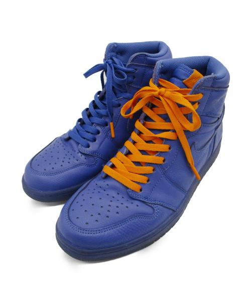 NIKE(ナイキ)NIKE (ナイキ) AIR JORDAN 1 RETRO HIGH OG G8R ブルー×オレンジ サイズ:28㎝ AJ5997-555の古着・服飾アイテム