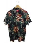 SUPREME(シュプリーム)の古着「ポロシャツ」|ネイビー×グリーン