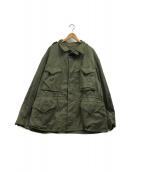 ()の古着「M-43バックプリントフィールドジャケット」|オリーブ