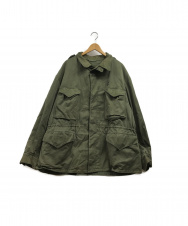 MILITARY (ミリタリー) M-43バックプリントフィールドジャケット オリーブ サイズ:無表記