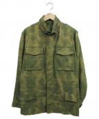 lucien pellat-finet(ルシアン・ペラフィネ)の古着「ミリタリージャケット」|カーキ