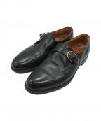 Lloyd footwear(ロイドフットウェア)の古着「シングルモンクレザーシューズ」|ブラック
