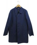 Traditional Weatherwear(トラディショナルウェザーウェア)の古着「キルティングライナー付ステンカラーコート」|ネイビー