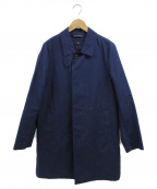 Traditional Weatherwear()の古着「キルティングライナー付ステンカラーコート」 ネイビー