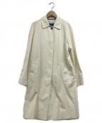 Burberry's()の古着「ラグランステンカラーコート」|ホワイト