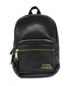 MARC JACOBS(マークジェイコブス)の古着「リュック / TREK PACK LEATHER」|ブラック