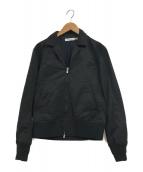 ()の古着「ジップジャケット」|ブラック