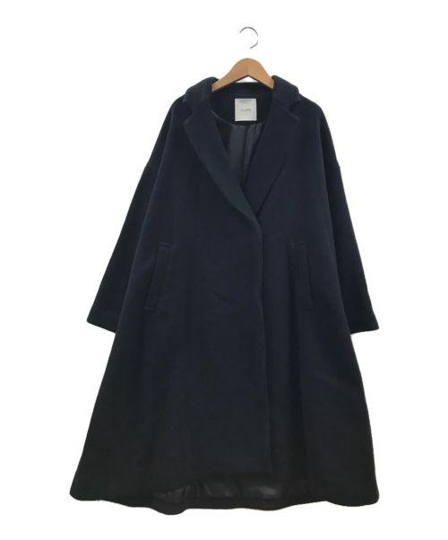 CLANE(クラネ)CLANE (クラネ) オーバーサイズコート ブラック サイズ:Sの古着・服飾アイテム