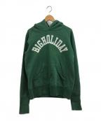 TMT(ティーエムティー)の古着「BIGHOLIDAY パーカー」|グリーン