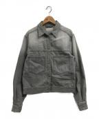 ISABEL MARANT ETOILE(イザベルマランエトワール)の古着「デニムジャケット」|グレー