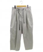 CINOH(チノ)の古着「EASY PANTS」|グレー