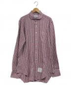 Thom Browne(トムブラウン)の古着「ギンガムチェックシャツ」|レッド