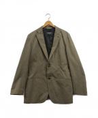 allegri(アレグリ)の古着「テーラードジャケット」|ブラウン