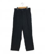 STEVEN ALAN(スティーブンアラン)の古着「BAGGY TAPERED PANTS」|ブラック