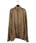 GUCCI(グッチ)の古着「Oversize G Rhombus Zip Jacket」 ブラウン