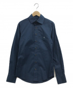 Vivienne Westwood man()の古着「デザインシャツ」 ネイビー