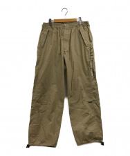 68&BROTHERS (68&ブラザーズ) Utility Track Pants ベージュ サイズ:XL