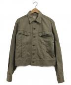 LEE()の古着「ヴィンテージトラッカージャケット」|ベージュ