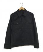 GIVENCHY()の古着「スターマリアデニムジャケット」 ブラック
