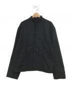 Porter Classic(ポータークラシック)の古着「CASHMERE CHINESE JACKET」|ブラック