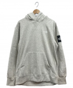 THE NORTH FACE()の古着「SQUARE LOGO HOODIE」|グレー